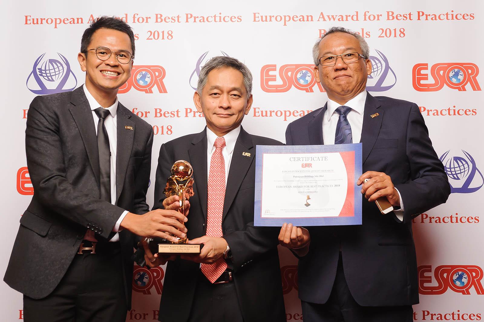 12 May 2018: ESQR Award 2018 1