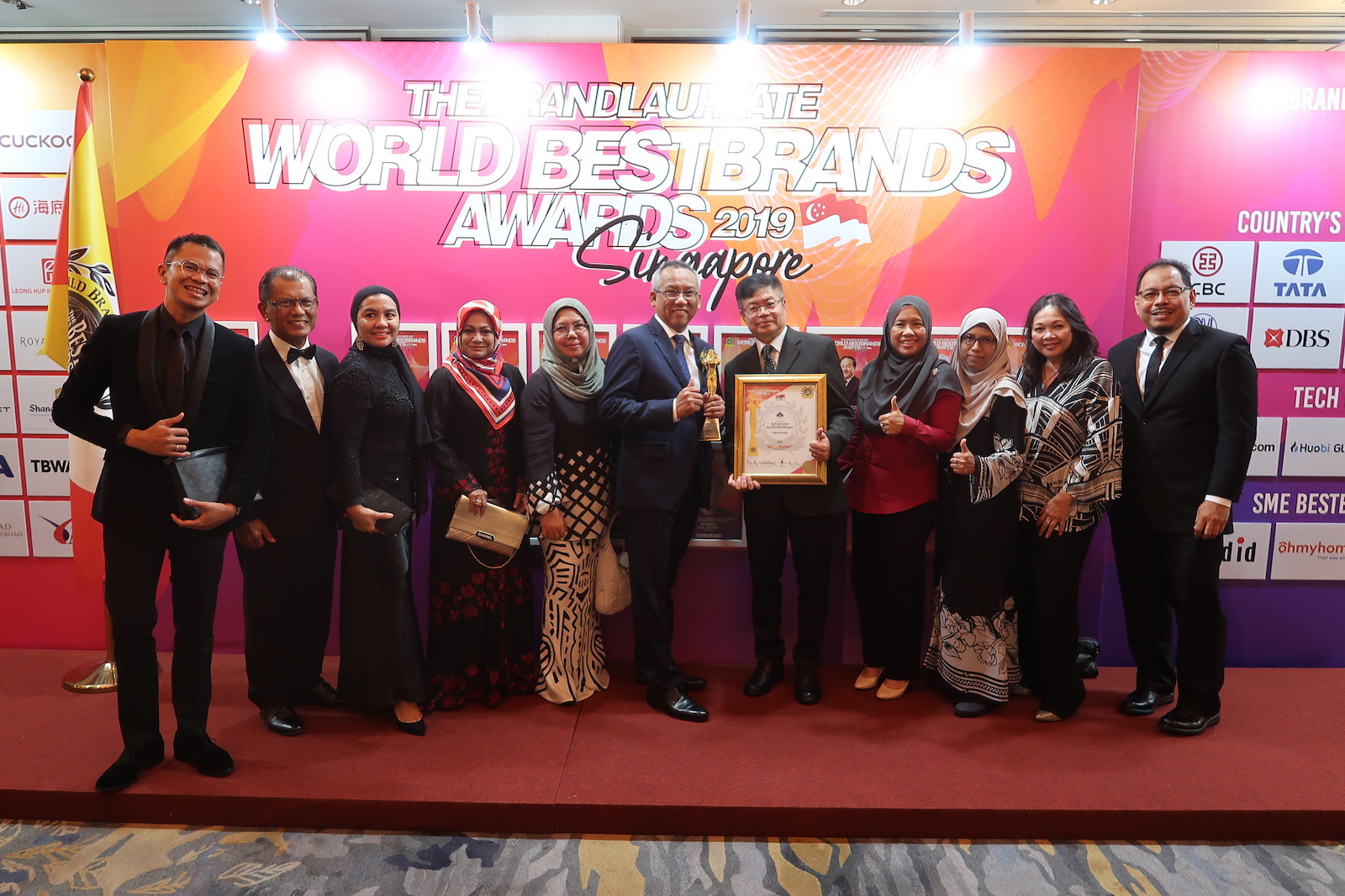 31 October 2019: THE BRANDLAUREATE WORLD BESTBRANDS AWARDS 2019 3