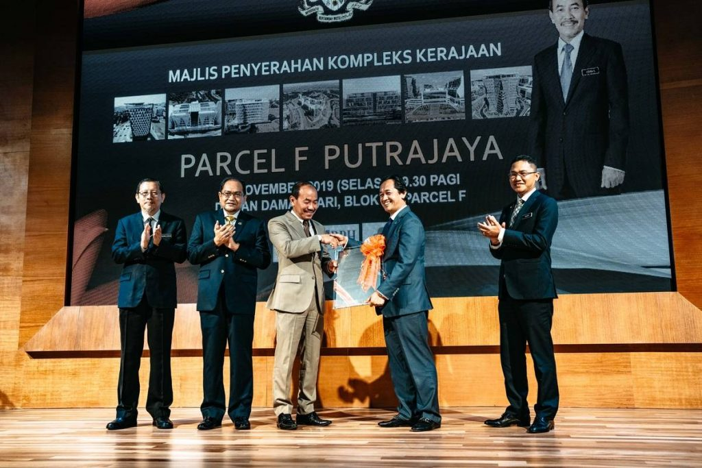 26 Nov 2019 Handing over Parcel F project to the Government 2