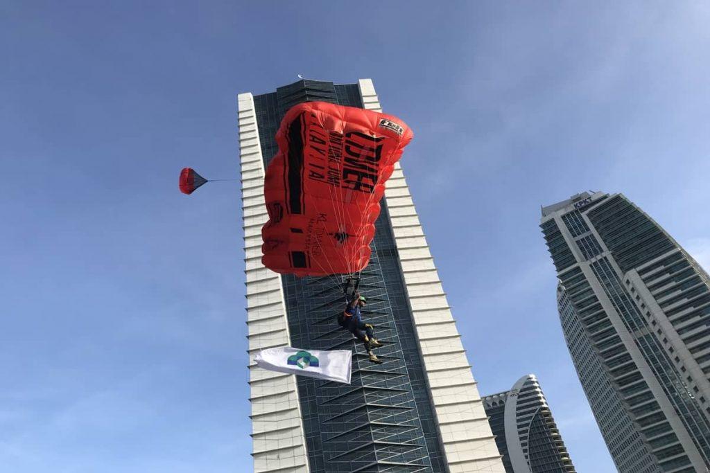 1 Feb 2020 Putrajaya Base Jump 2