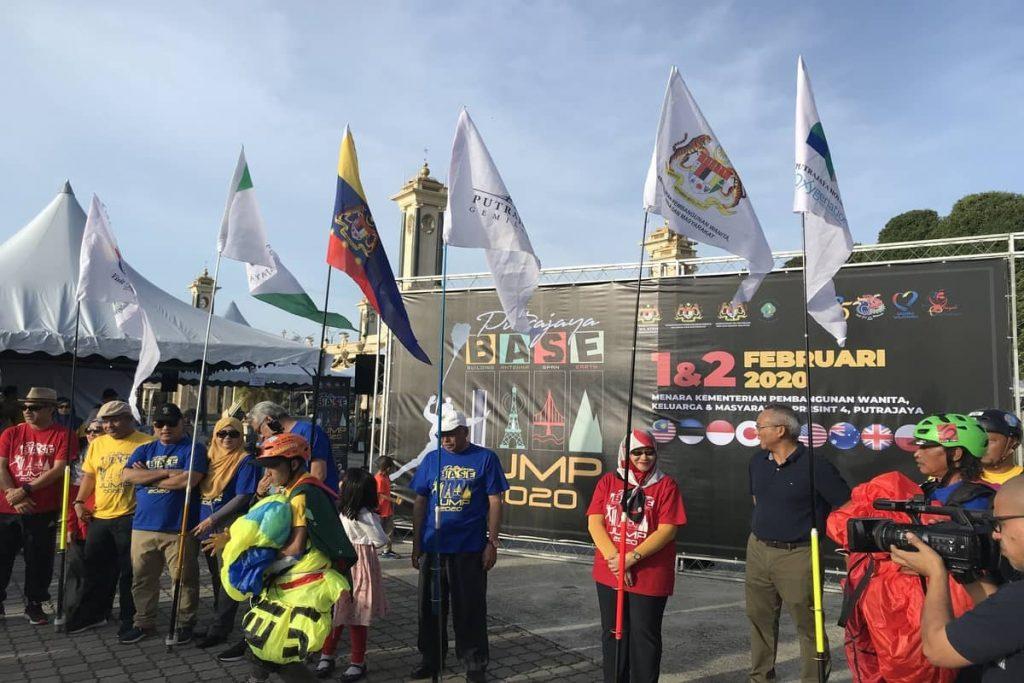 1 Feb 2020 Putrajaya Base Jump 4