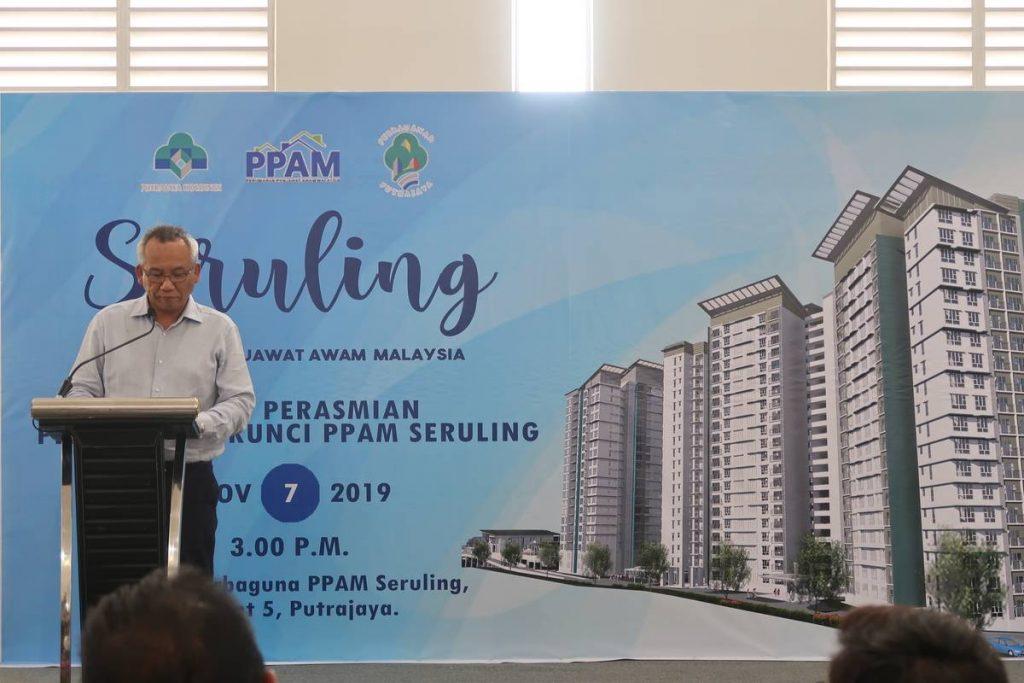 7 Nov 2019: Projek Perumahan Awam Malaysia (PPAM) Seruling - Handing over keys to purchasers 3