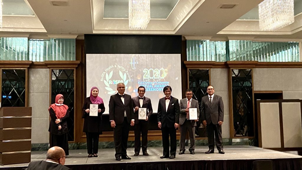 3 Sep 2020: The Royal Society for the Prevention of Accidence (RoSPA) Health & Safety Awards - Silver Award for Putrajaya Holdings Sdn Bhd 8