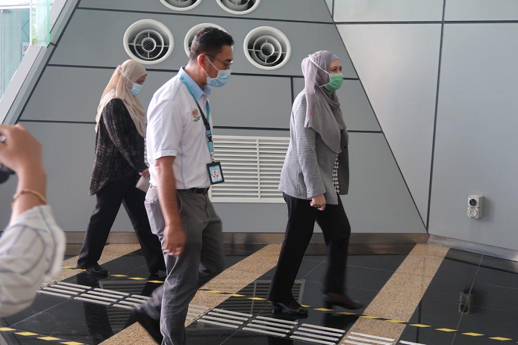 15 October 2020: Handover and welcoming a new tenant, Jabatan Perkhidmatan Pembetungan Kementerian Alam Sekitar dan Air (JPP) to Suasana PJH, Precinct 2. 24
