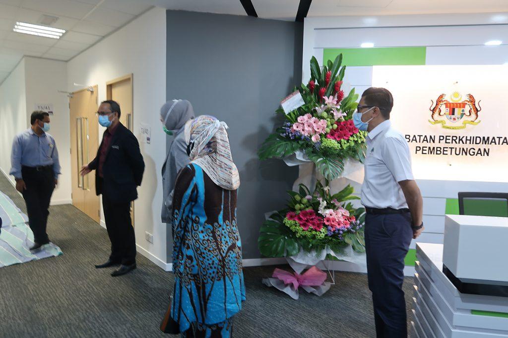 15 October 2020: Handover and welcoming a new tenant, Jabatan Perkhidmatan Pembetungan Kementerian Alam Sekitar dan Air (JPP) to Suasana PJH, Precinct 2. 21
