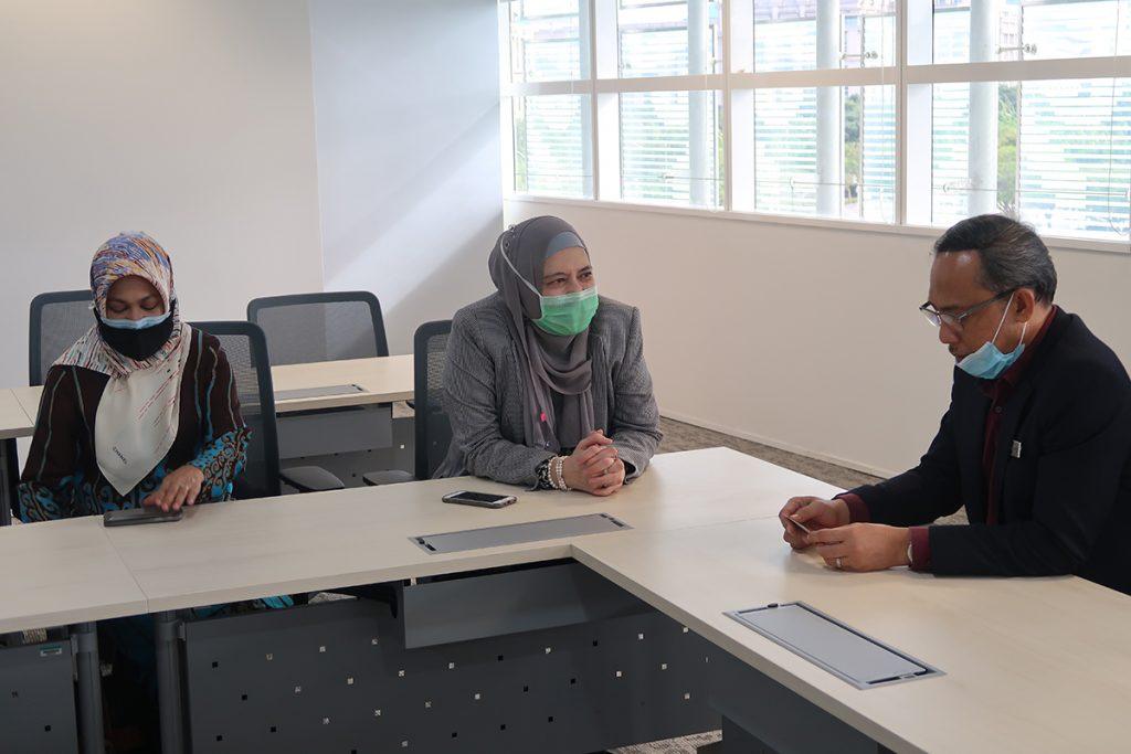 15 October 2020: Handover and welcoming a new tenant, Jabatan Perkhidmatan Pembetungan Kementerian Alam Sekitar dan Air (JPP) to Suasana PJH, Precinct 2. 20