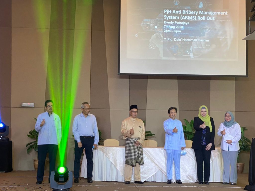 7 August 2020: The launch of PJH's Anti Bribery Management System at The Everly Putrajaya 21