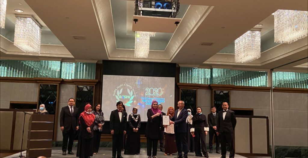 3 Sep 2020: The Royal Society for the Prevention of Accidence (RoSPA) Health & Safety Awards - Silver Award for Putrajaya Holdings Sdn Bhd 7