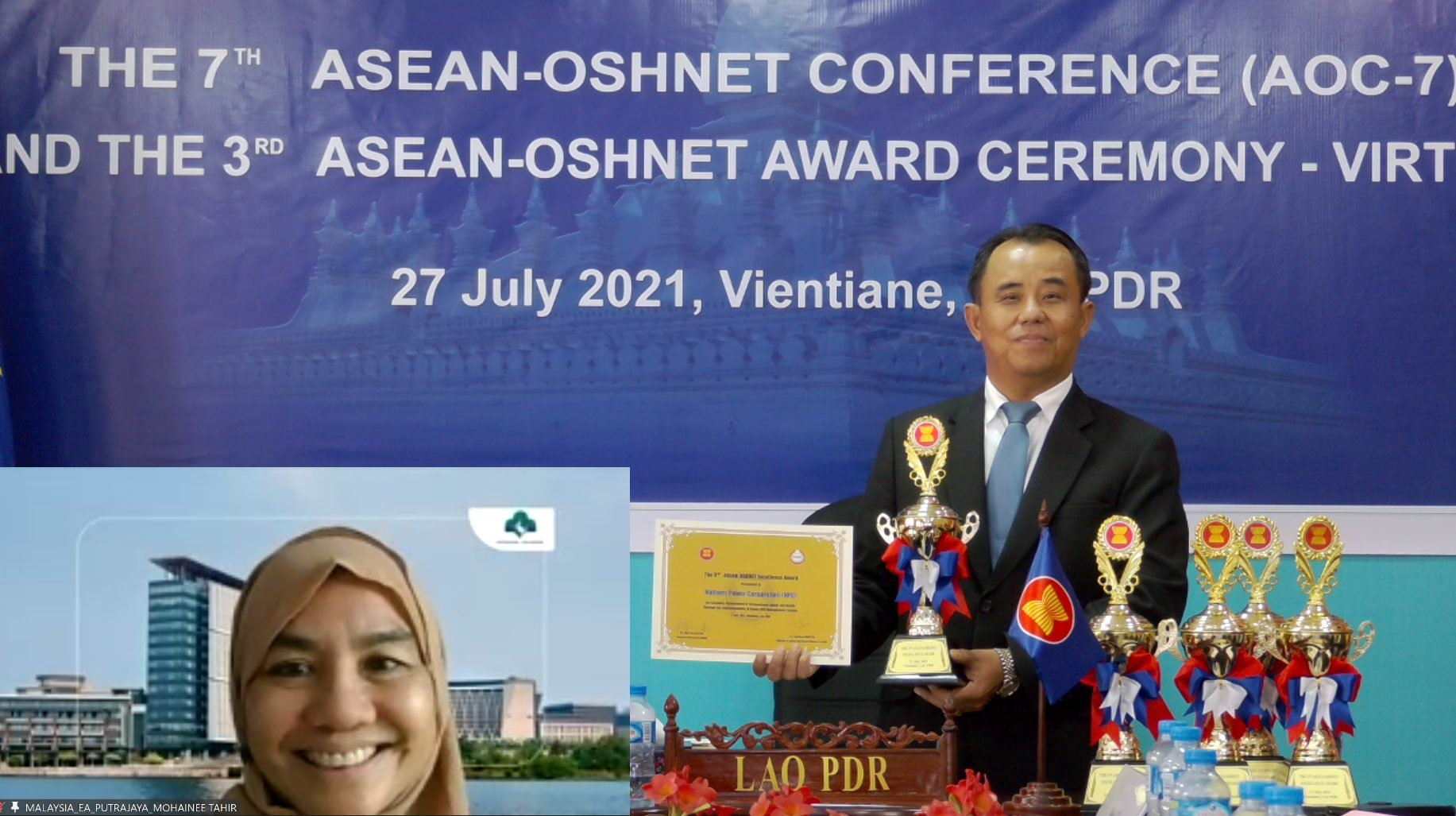 Putrajaya Holdings Bags ASEAN Award for Excellent Occupational Safety and Health 1