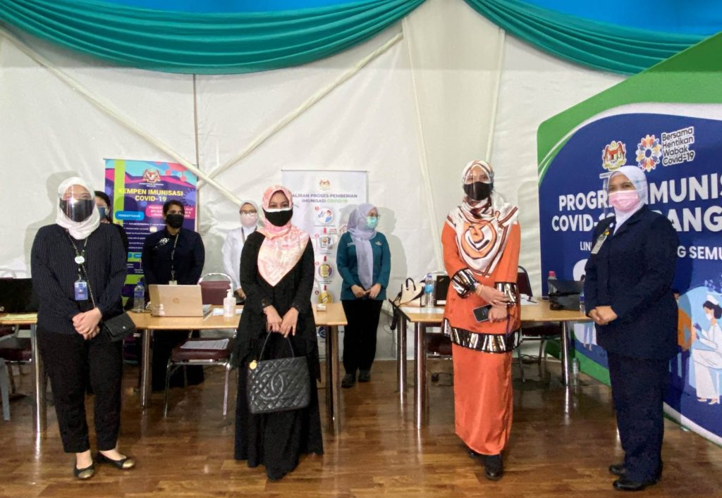 Putrajaya Holdings Supports the National COVID-19 Immunisation Programme 1